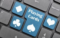 Playing cards symbol Royalty Free Stock Photography