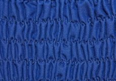 Blue Pleated dress  texture. Stock Photo