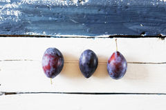 Blue plums photo Royalty Free Stock Photography