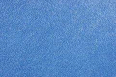 Blue plush terry cloth bath towel background Stock Image