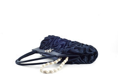 Blue Pochette 1 Royalty Free Stock Photo