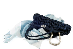 Blue Pochette Stock Photos