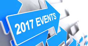 Blue Pointer - 2017 Events . 3D. Stock Images