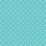 Blue polka dot background pattern Royalty Free Stock Image