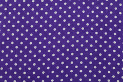 Blue polka dot fabric Royalty Free Stock Photos