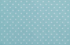 Blue polka dot fabric Royalty Free Stock Photo