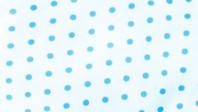 Blue Polka Dot Fabric Seamless Polka Dots Pattern royalty free stock image