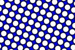 Blue polka dots background Royalty Free Stock Photo