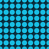 Blue polka dots Stock Photos