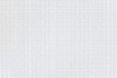 Blue polka dots on white background.  royalty free stock image