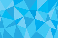 Blue poly abstract background. Design on July 2015 Royalty Free Illustration