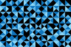 Blue poly abstract Royalty Free Stock Photos