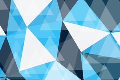 BLUE POLY  TECHNOLOGY ABSTRACT BACKGROUND. Royalty Free Stock Photos