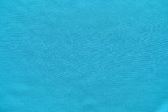 Blue polyester fabric texture Royalty Free Stock Photography
