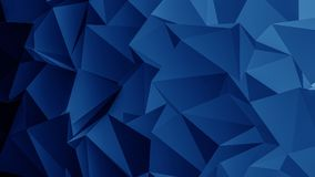 Blue Polygon Background. Image for your project. High resolution image stock illustration