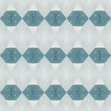 Blue polygon background Royalty Free Stock Photography