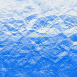 Blue polygons Stock Image