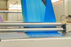 Blue polythene tape Stock Photography