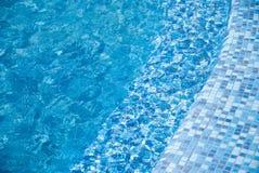 Blue pool background 5 Stock Photo