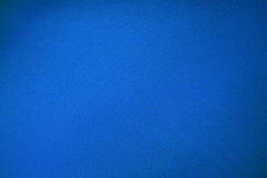 Blue pool billiards cloth color texture close up Royalty Free Stock Images