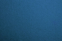 Blue pool billiards cloth color texture close up Royalty Free Stock Photo