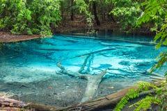 Blue Pool Krabi Province, Thailand Stock Photo