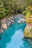 Blue Pool in New Zealand Stock Photos