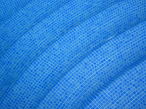 Blue pool tiles background Royalty Free Stock Photo