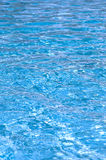 Blue pool water Royalty Free Stock Photography
