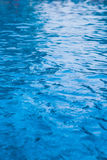 BLUE POOL WATER BACKGROUND Royalty Free Stock Photo