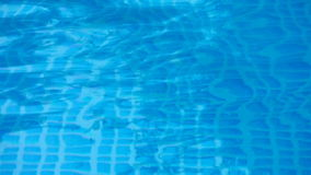 Blue Pool Waves stock footage