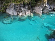 Blue Pools. Clear clean blue waters Royalty Free Stock Photography