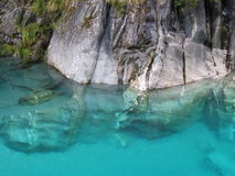 Blue Pools 2 Royalty Free Stock Photography