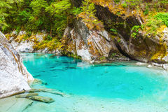 Blue pools Royalty Free Stock Images