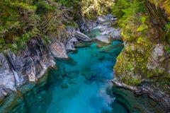 Blue Pools, New Zealand Royalty Free Stock Photo