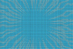 Blue pop art retro comic book halftone background Royalty Free Stock Photography