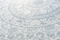 Blue porcelain background Stock Image