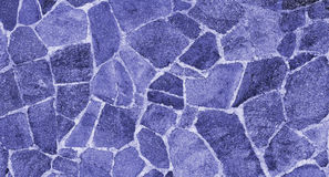 Blue Porphyry Paving Texture Royalty Free Stock Images