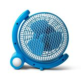 Portable fan isolated Stock Photo