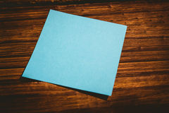 A Blue post it note Stock Photos