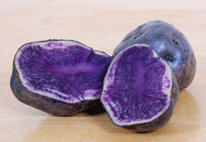 Blue Potatoes Royalty Free Stock Image