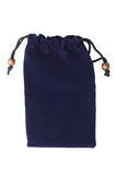 Blue pouch Royalty Free Stock Photography