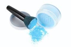 Blue powder Royalty Free Stock Image