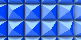 Blue power in big texture. Stock Photography