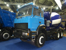 Blue power truck Stock Photography