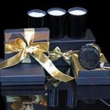 Blue present Royalty Free Stock Photo