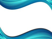 Blue presentation Royalty Free Stock Image