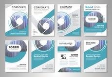 Brochure design Stock Photos