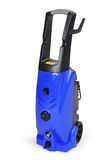Blue pressure portable washer Royalty Free Stock Photos