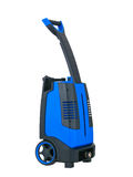 Blue pressure portable washer isolated Stock Photos